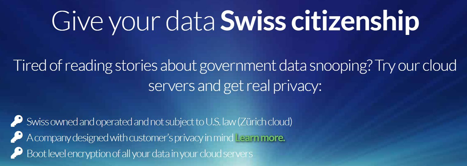 cloudsigma-security-swiss location