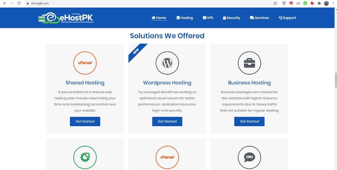 eHostPK solutions