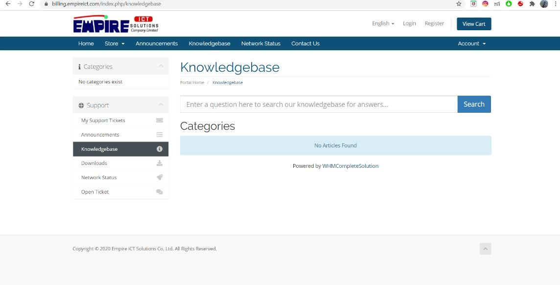 empire ict knowledge base