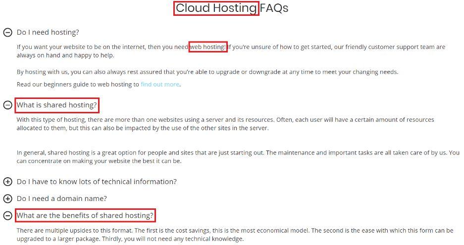 hosting.co.uk FAQ