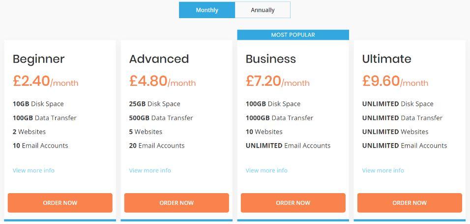 hosting.co.uk-prices-web hosting