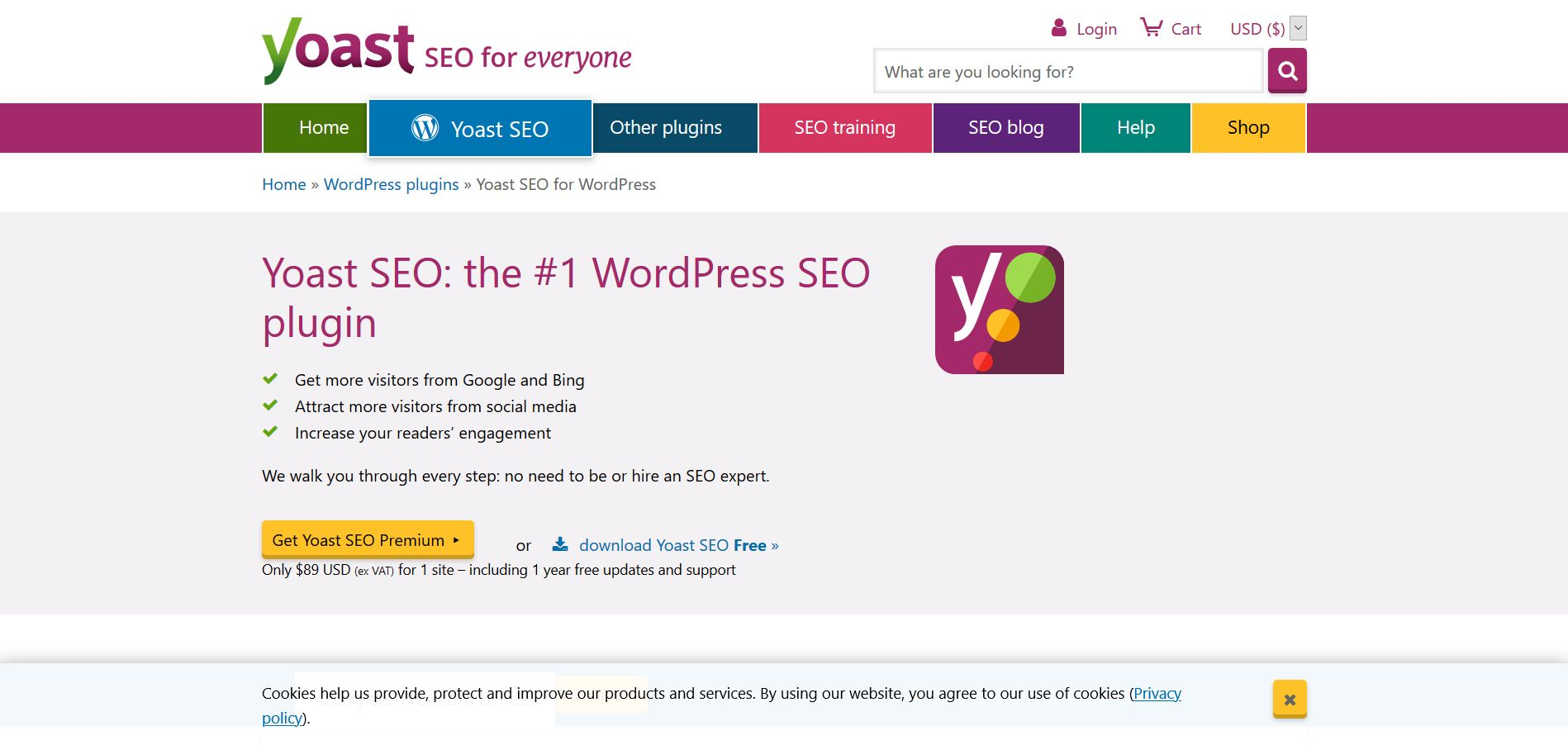 Yoast SEO the #1 WordPress SEO plugin