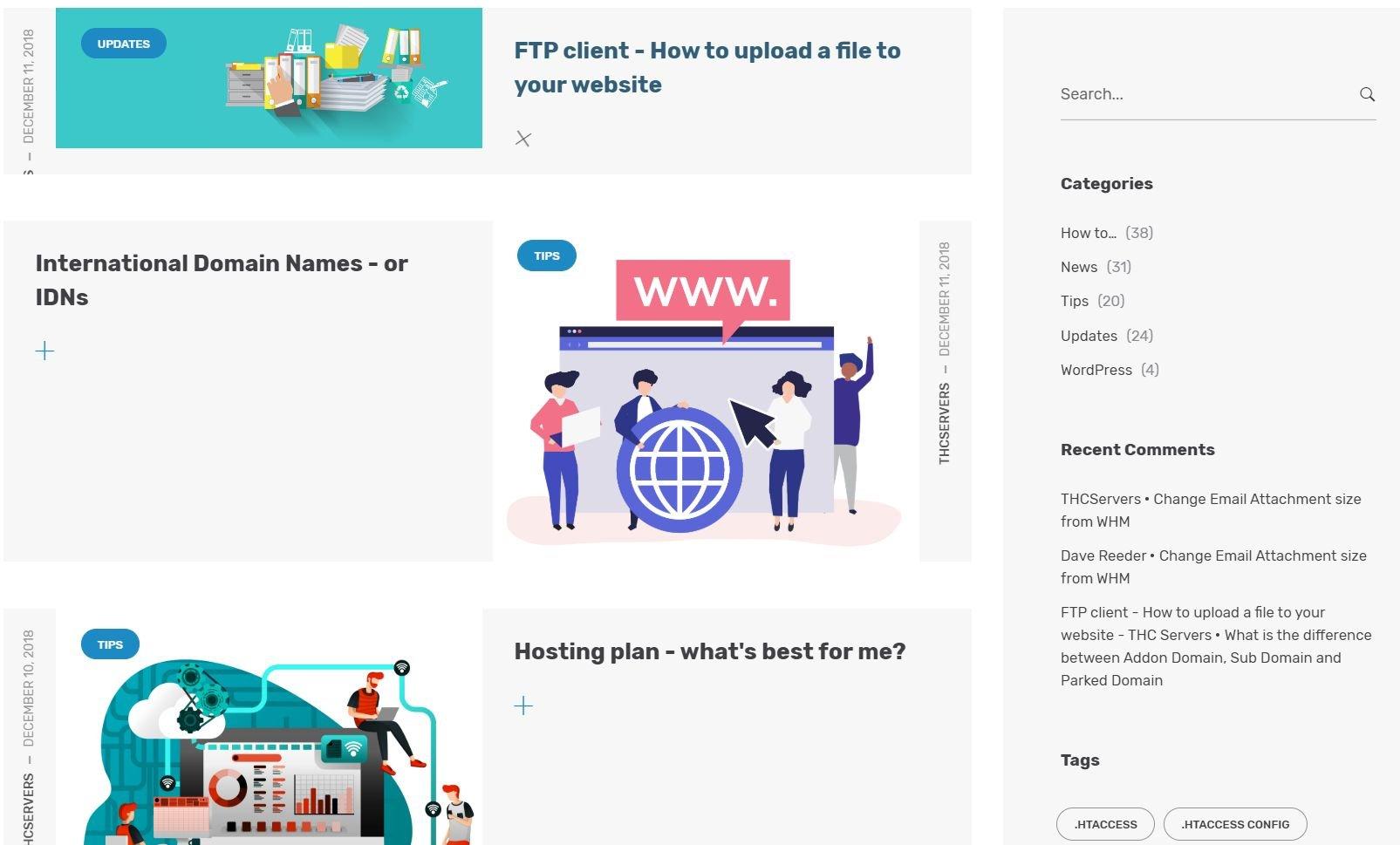 thc servers-support-blog
