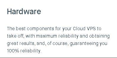 Clouding.io hardware