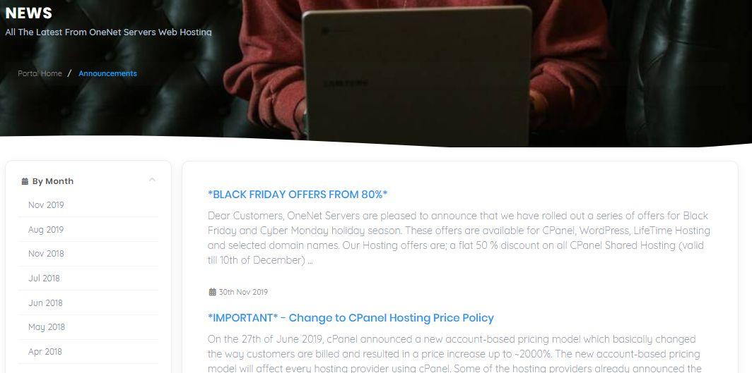 Onenet news