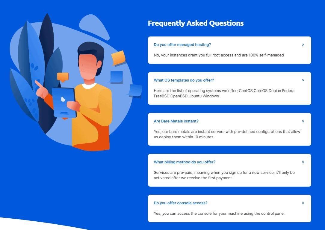 Onenetservers FAQs