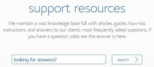 bluehost support resources
