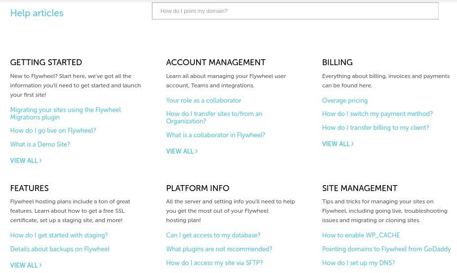 Flywheel-support-help articles