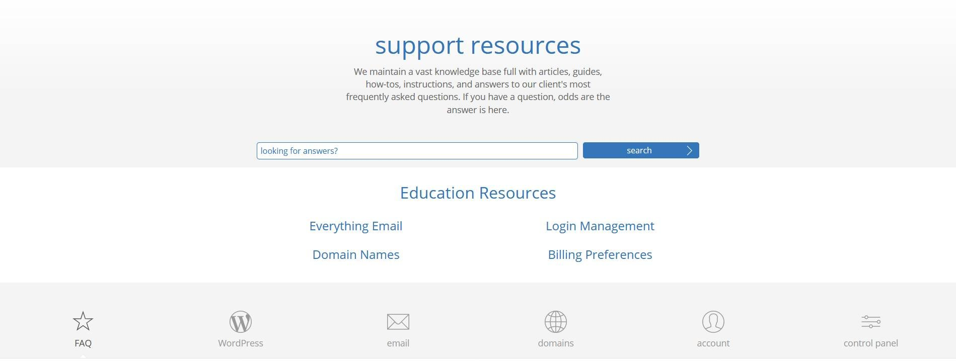 bluehost-support-resources