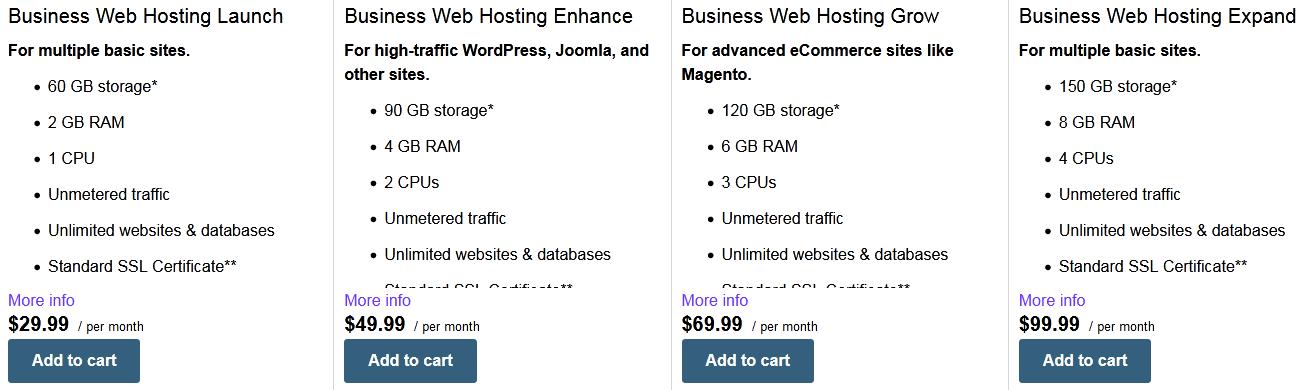 Madezdomains business web hosting