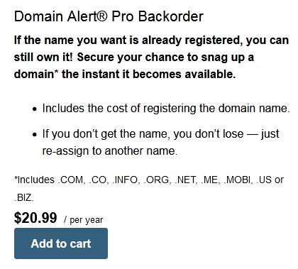 Madezdomains domain backorder
