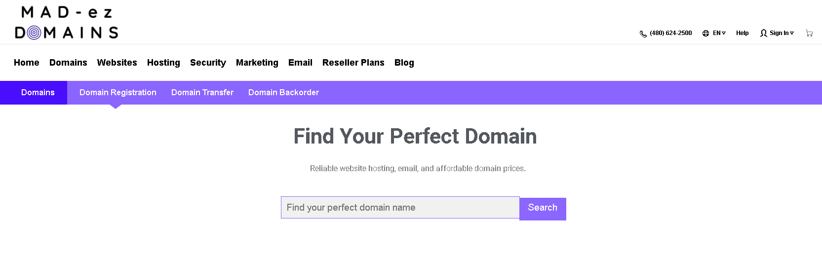 Madezdomains domain registration