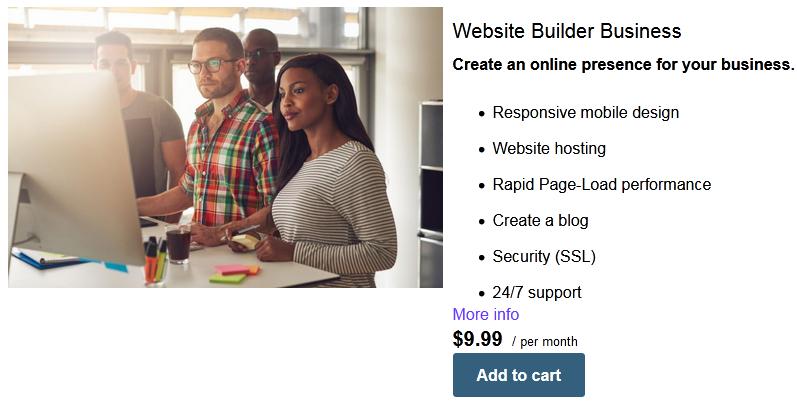 Madezdomains website builder business