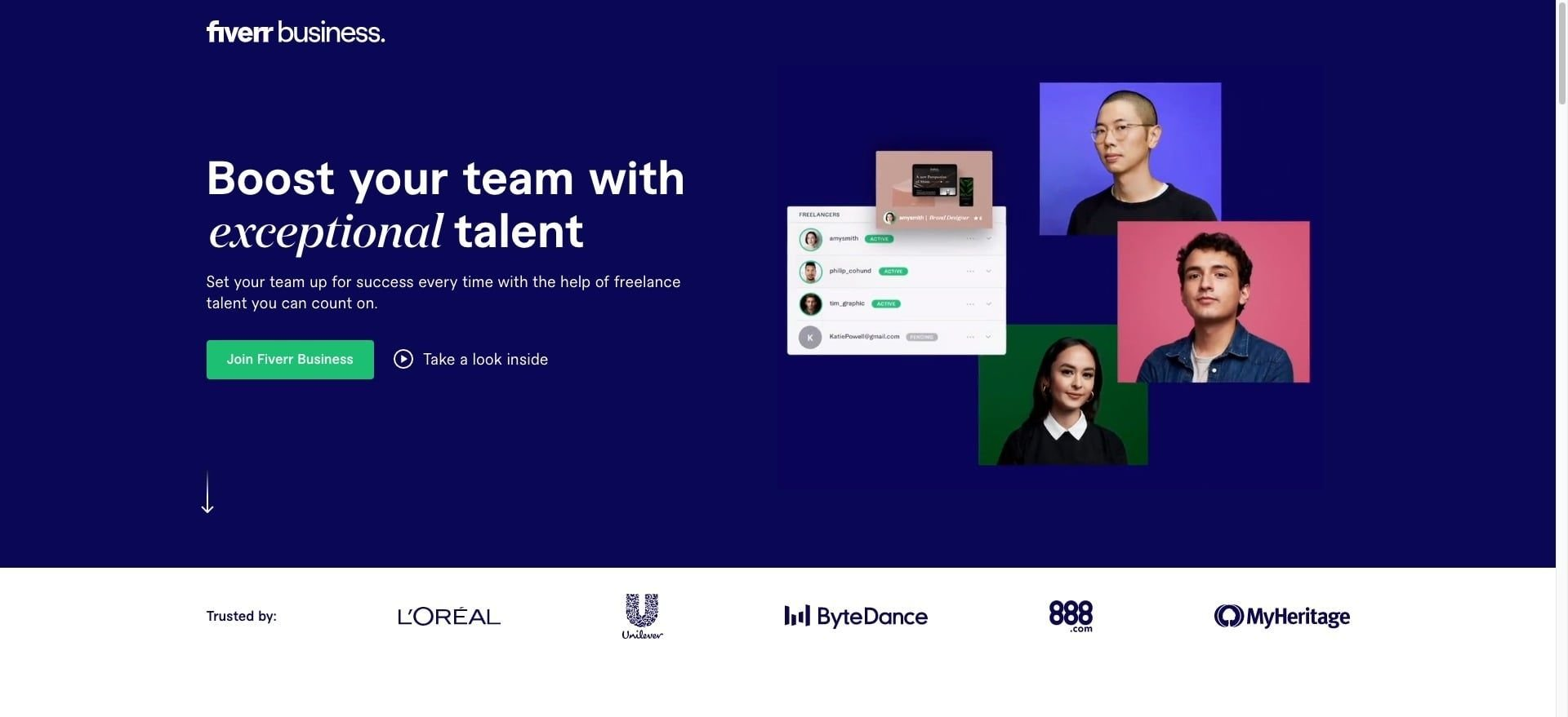 Fiverr Business - Connect Your Team With Freelance Expert