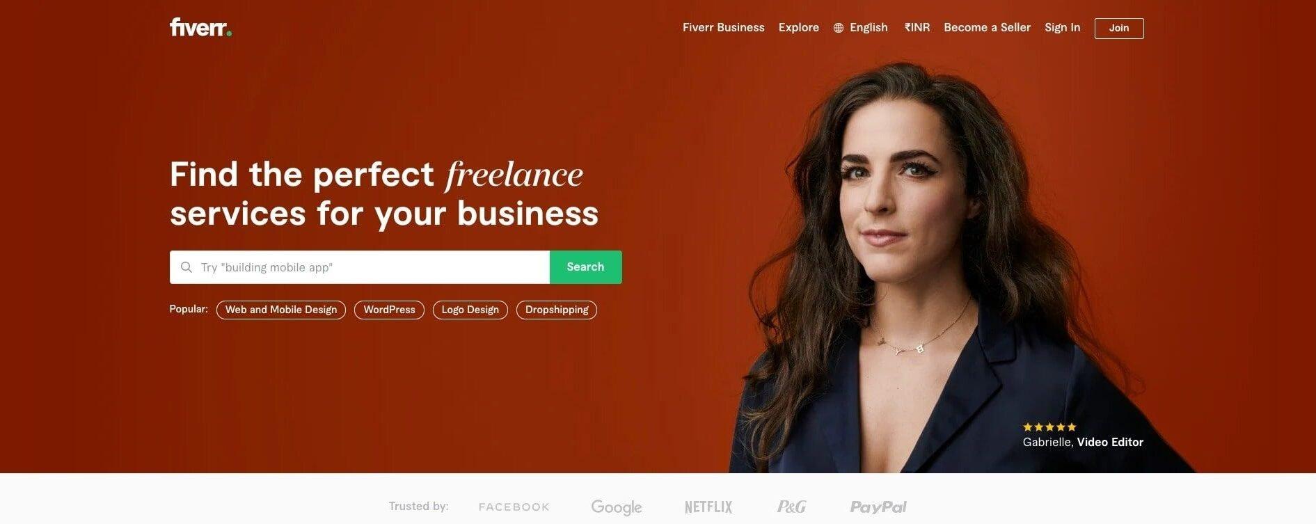 Fiverr - Freelance Services Marketplace for Businesses copy