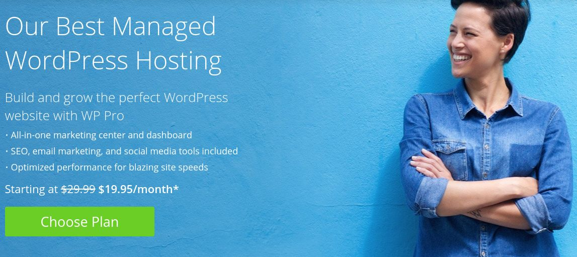 best managed wp-bluehost