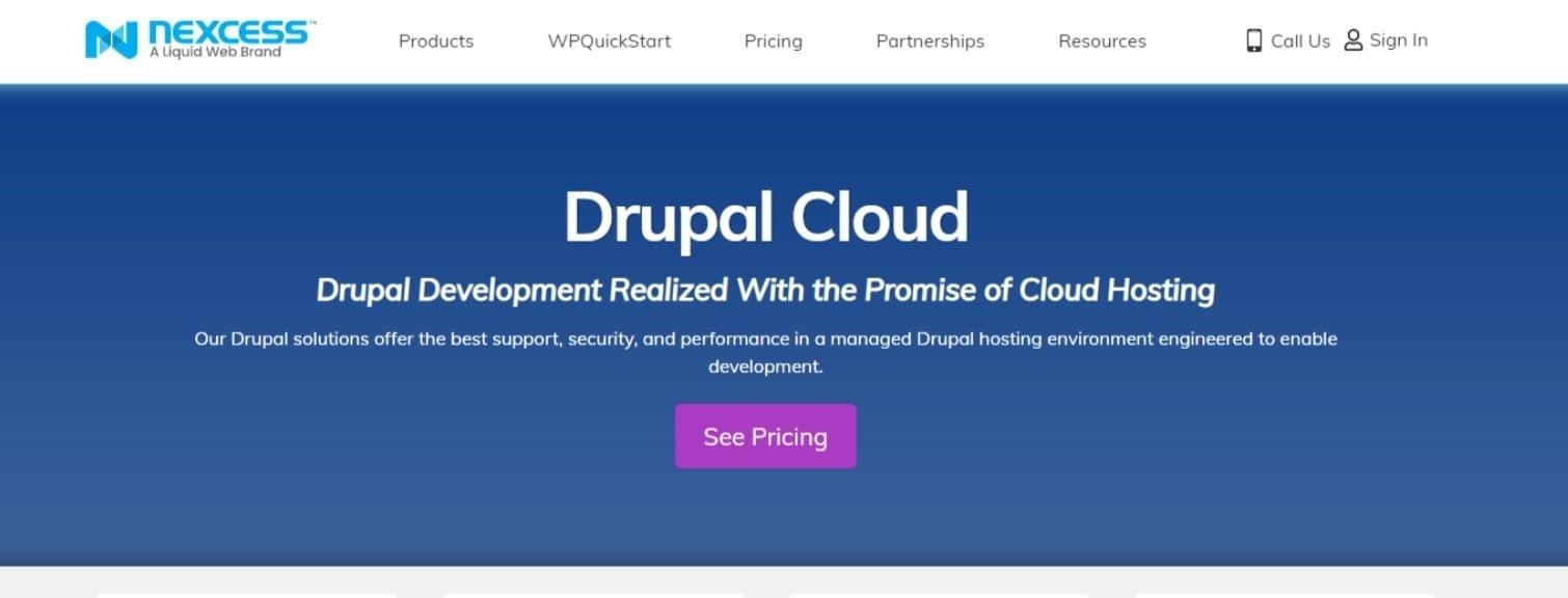Drupal Cloud Hosting Nexcess